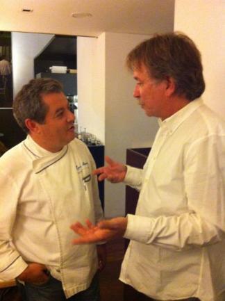 Med chef Rui Paula restaurant DOP i Porto