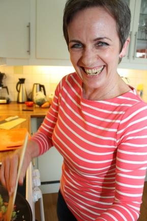 3 Elisabeth Smith er opptatt av å spise sunt, men er ikke fanatisk