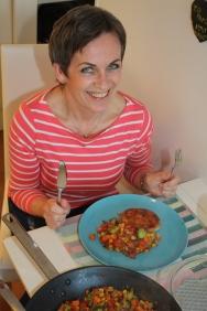 5 Appetitten er på topp hos Elisabeth Smith