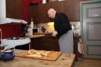 6 Litt pensling på toppen, deretter noen minutter i ovnen til de får en fin farge