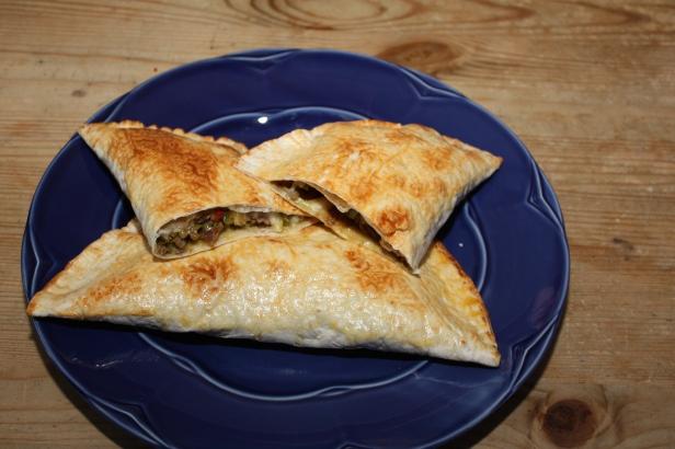 7 En blanding av tortilla, empanadas og calzone Månesnadder!