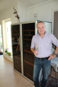 Dag Ingvar Jacobsens hobby og lidenskap tar litt plass i rommet