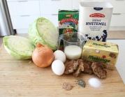 Ingredienser. Foto Marte Krogstad