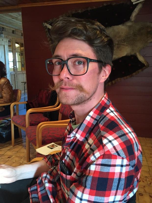 Jon Hansson ble hekta på asiatisk mat i Korea.JPG
