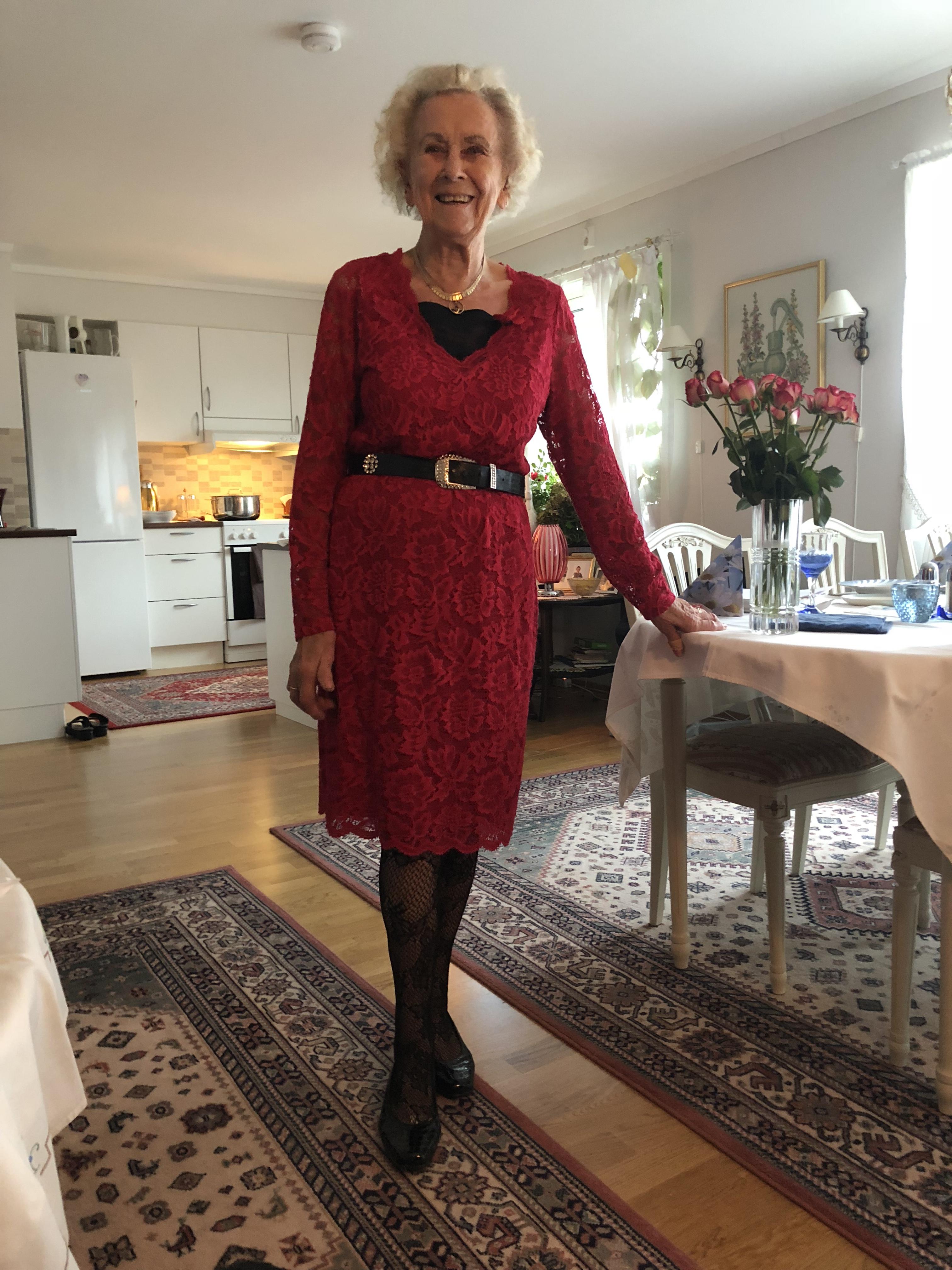 mamma 90 år